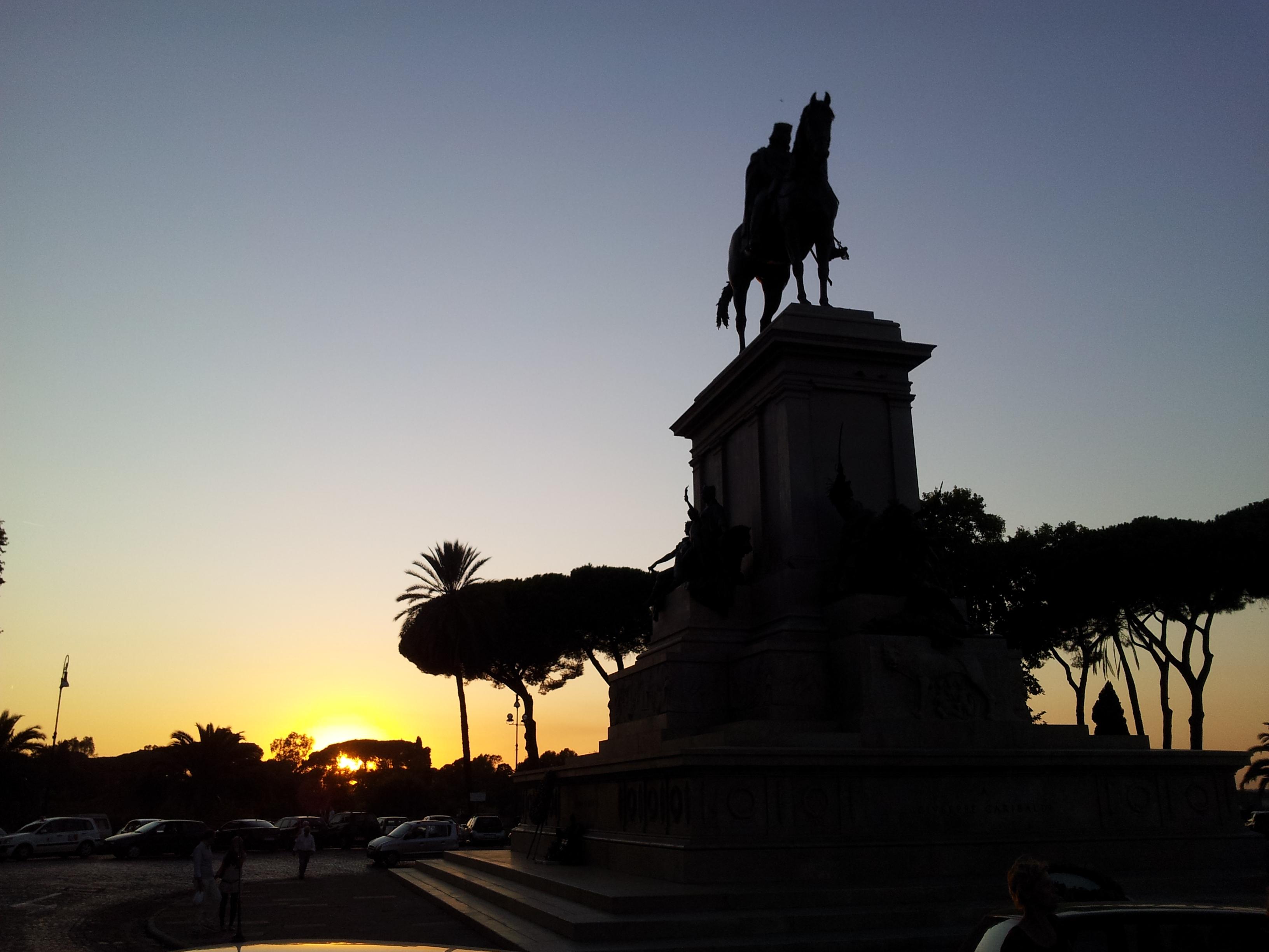 Il parco del Gianicolo a Roma: storia patria ed alti ideali