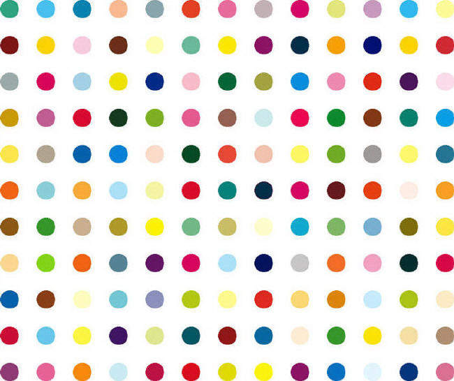 Damien Hirst porta la Pop Art in tournè