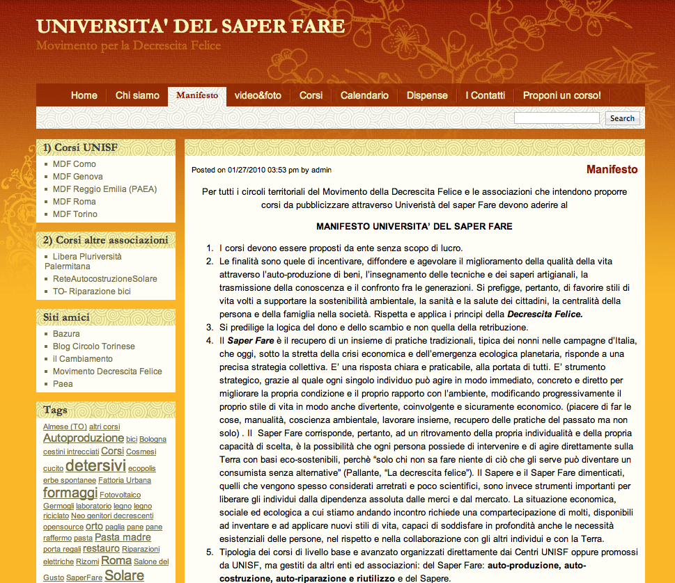L'Università del Saper Fare
