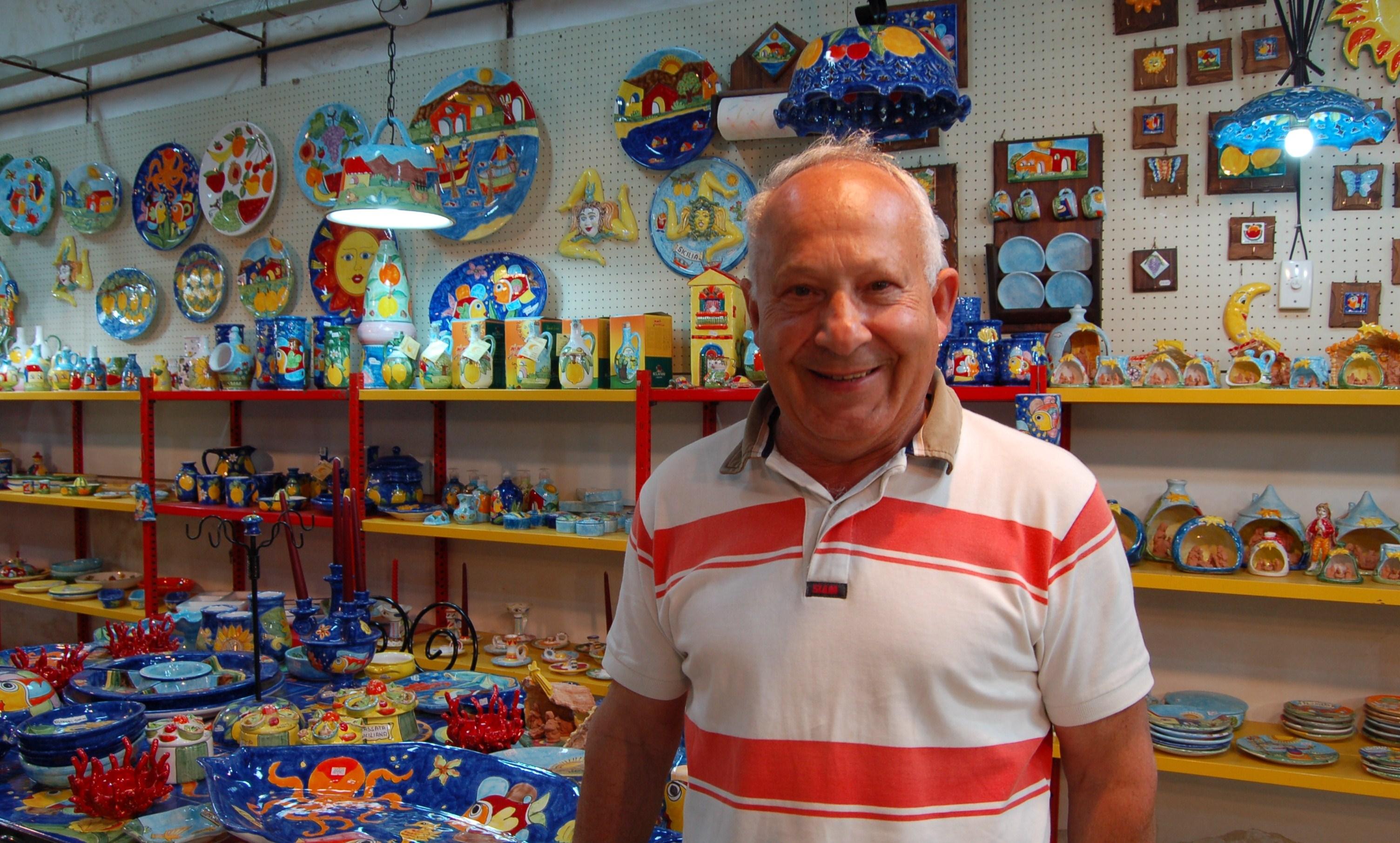 Dai carretti alle ceramiche storia familiare di colori siciliani