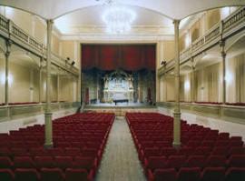 L'auditorium Pedrotti di Pesaro costruito nel 1892