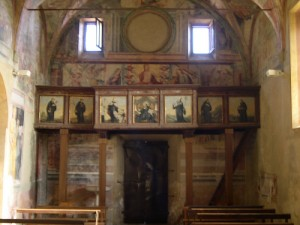 Affreschi della Chiesa di Sant'Oliva a Cori