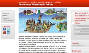 Home page  del sito Rinascimento italiano di Gabriele-Centazzo