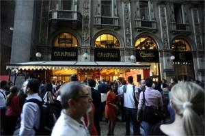 Un momento della Notte bianca della Moda a Milano il 6 settembre