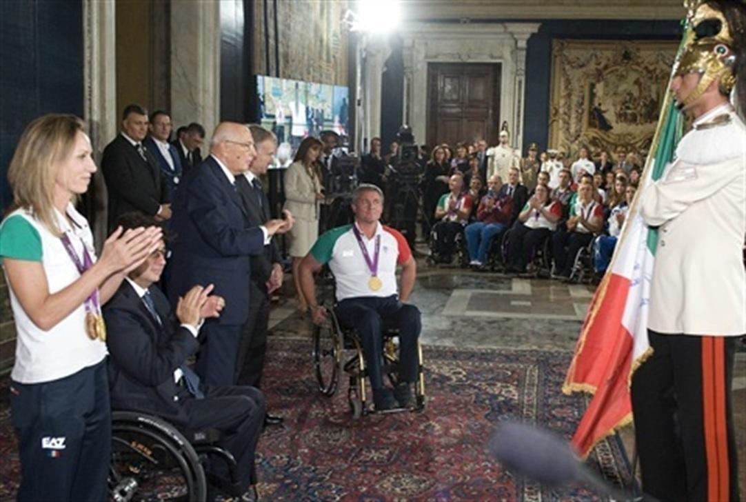 Napolitano: gli atleti olimpici ambasciatori del made in Italy