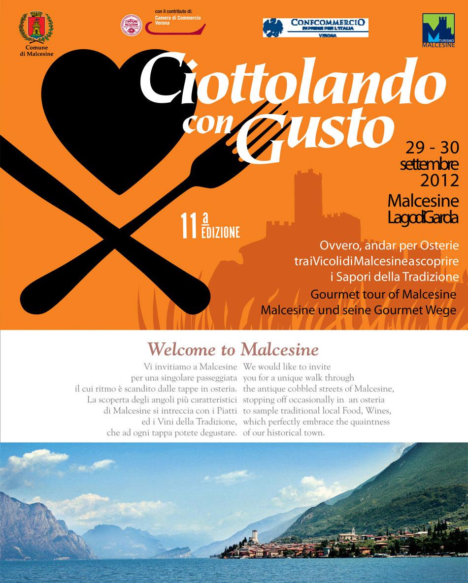 """Malcesine, viaggio nel gusto con """"Ciottolando 2012"""""""
