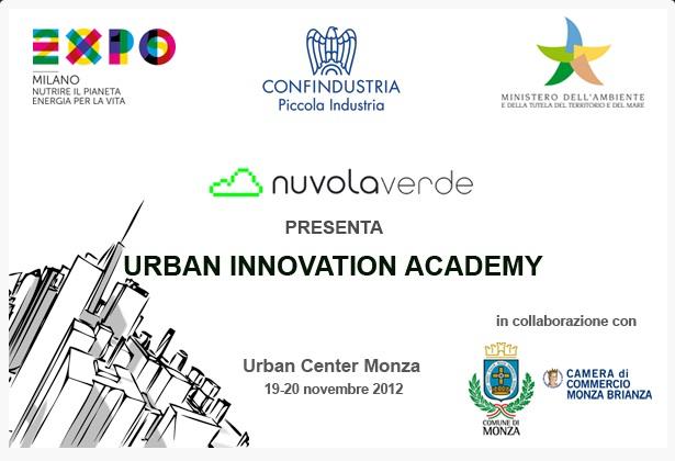 Urban innovation academy: Monza città sostenibile della cultura digitale