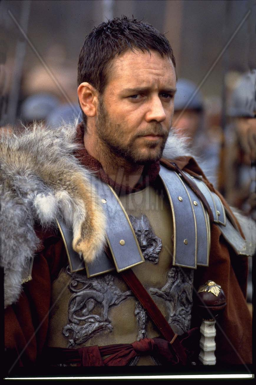 Crowe, il gladiatore, combatte per Decimo Meridio