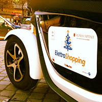 Mobilità sostenibile: prosegue a Roma ElettroShopping