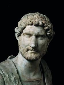 Busto di Adriano130 d.C._Musei_Capitolini_Roma (da La Storia d'Europa UTET)