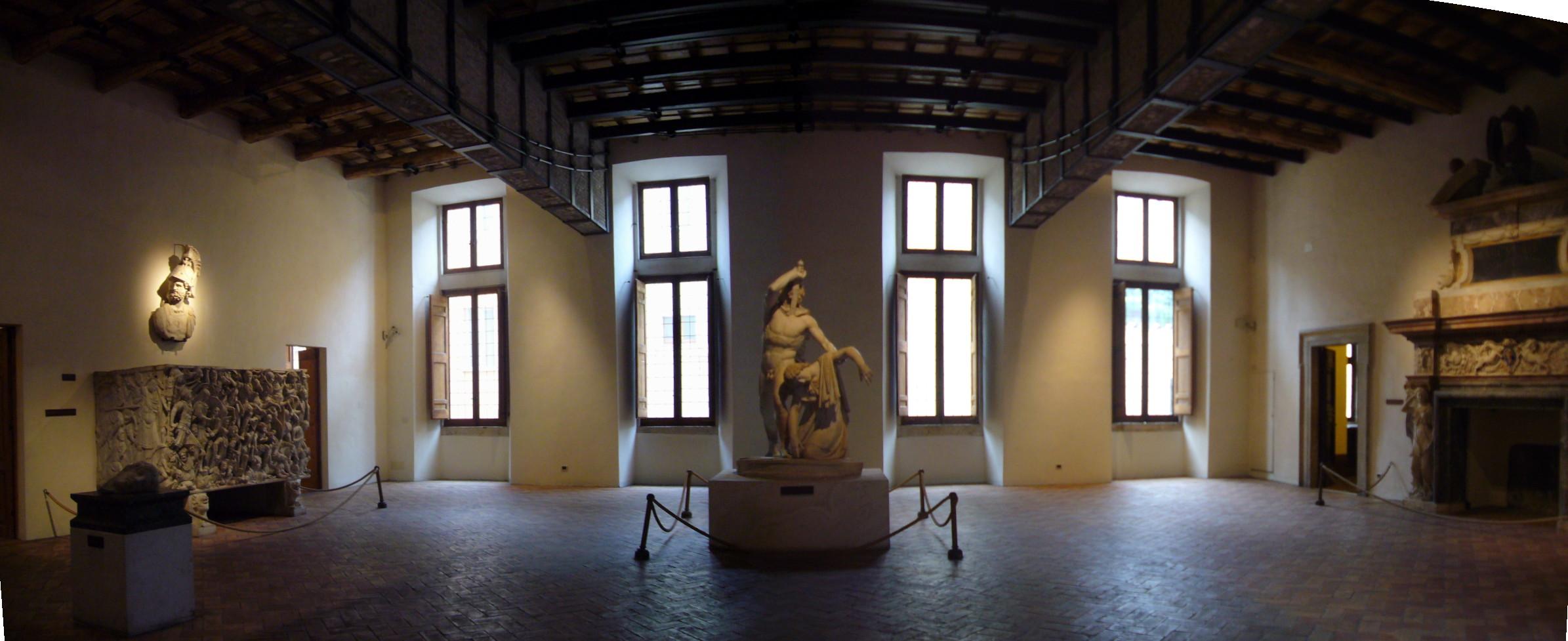 Con Ancilia a palazzo Altemps e palazzo Massimo a Roma