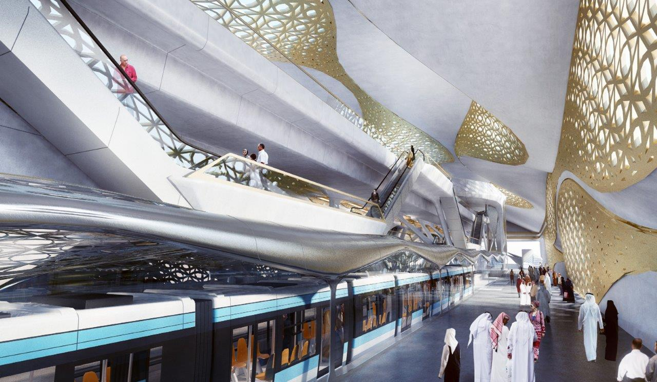 Tecnologia italiana per la metropolitana di Riyadh