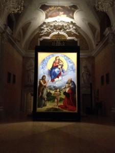 Raffaello  - La Madonna di Foligno