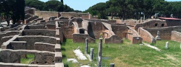 A Ostia un'area archeologica più grande di Pompei