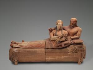 Etruschi - Il sarcofago degli Sposi - Louvre