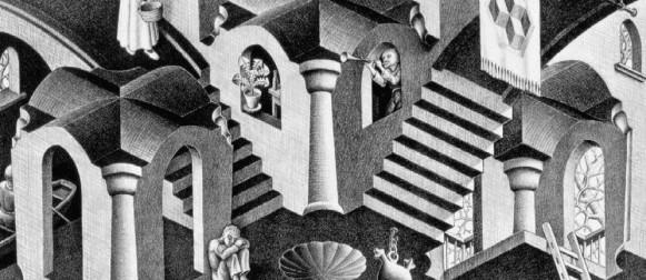 Il fascino dell'Italia e il genio di Escher