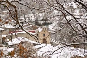 cellara - sotto la neve