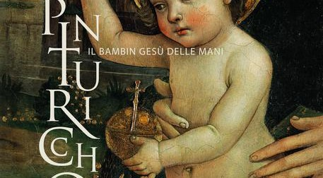 A Cortina in mostra il bambin gesù delle mani di Pinturicchio
