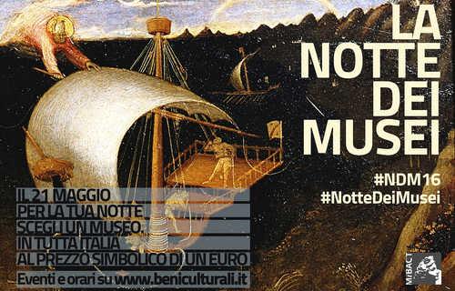 Notte dei Musei  per valorizzare l'identità culturale europea