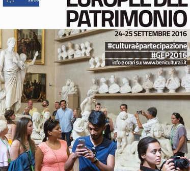 24-25 settembre: tornano le Giornate Europee del Patrimonio