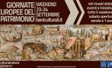Giornate Europee del Patrimonio, il primo weekend di autunno all'insegna della cultura
