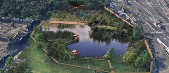Lago Ex SNIA: un'oasi nel caos metropolitano di Roma